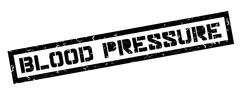 Blood Pressure rubber stamp Piirros