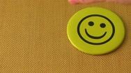 Smile icon Stock Footage