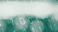 Cybersecurity computer hacker attack Stock Footage