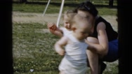 1961: twins are seen DETROIT, MICHIGAN Stock Footage