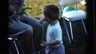1961: a garden is seen DETROIT, MICHIGAN Stock Footage