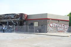 Ferguson Aftermath Stock Photos