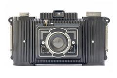 Camera of the fifties Stock Photos