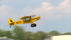 Super Cub Take Off Stock Footage