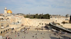 Jerusalem Palestine Aqsa Mosque Israel Stock Footage