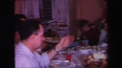 1974: family gathering LYNBROOK, NEW YORK Stock Footage
