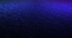 Futuristic Particles Abstract Background - Creative Design Element. Stock Footage