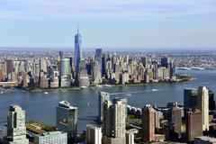 New York City from New Jersey Kuvituskuvat