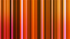 Broadcast Twinkling Vertical Hi-Tech Bars, Orange, Abstract, Loopable, 4K Stock Footage