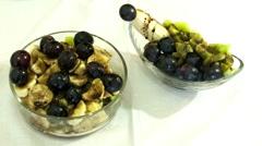 Fruits Salats Chocolate and Shugar Stock Footage