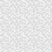 Seamless pattern made of greyscale overlay circles with black outline Stock Illustration