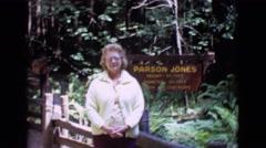 1968: parson jones tree COTTONWOOD, ARIZONA Stock Footage