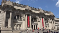 The Metropolitan Museum of Art, Manhattan, New York, United States. Stock Footage