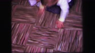 1974: a toddlers is seen crawling LYNBROOK, NEW YORK Stock Footage