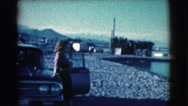 1961: a woman is seen posing CLARKSDALE, ARIZONA Stock Footage