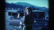 1961: a woman is seen posing CLARKSDALE, ARIZONA Stock Footage