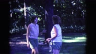 1961: a day in the park CLARKSDALE, ARIZONA Stock Footage