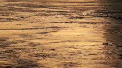 Detail of water flowing in the Tiber river in Rome, Italy. Stock Footage