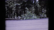 1964: a snow playing is seen COTTONWOOD, ARIZONA Stock Footage