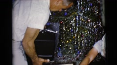 1968: a christmas tree is seen CLARKSDALE, ARIZONA Stock Footage