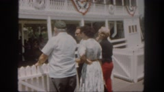1962: independence day SAN PEDRO, CALIFORNIA Stock Footage
