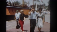 1962: a ship is seen SAN PEDRO, CALIFORNIA Stock Footage