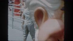 1962: a submarine is seen SAN PEDRO, CALIFORNIA Stock Footage