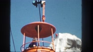 1962: a lift off is seen SAN PEDRO, CALIFORNIA Stock Footage