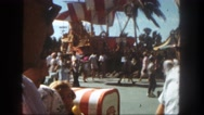 1962: man watches woman go through her purse SAN PEDRO, CALIFORNIA Stock Footage