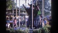 1962: an amusement park SAN PEDRO, CALIFORNIA Stock Footage