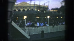 1962: o'que enjoying its best in an international culture discovery tour Stock Footage