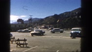1962: scenic mountain view from the 1950s DISNEYLAND, CALIFORNIA Stock Footage
