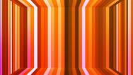 Broadcast Twinkling Vertical Hi-Tech Bars Room, Orange, Abstract, Loopable, 4K Stock Footage