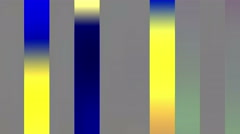 Colored Big Flickering Lines Background Stock Footage