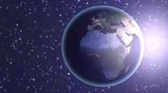 Spinning Globe - Loopable Stock Footage