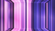 Broadcast Twinkling Vertical Hi-Tech Bars Room, Purple, Abstract, Loopable, 4K Stock Footage