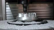 Metalworking CNC milling machine. Stock Footage