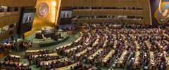 United Nations General Assembly in New York Kuvituskuvat