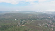 The flight of the quadcopter Stock Footage