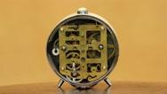 Alarm Clock Machinery Mechanic Stock Footage