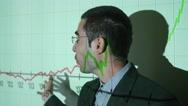 4K Business Seminar Projection Presentation Stock Footage
