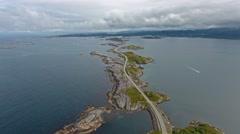 Atlantic Ocean Road Stock Footage