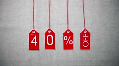 Sale Up To 40 Percent Off Stock Footage