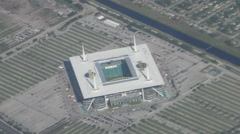Hard Rock Stadium Miami Stock Footage
