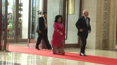 Najib Razak Malaysia PM Stock Footage