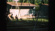 1958: a swing scene is seen AMES, IOWA Stock Footage
