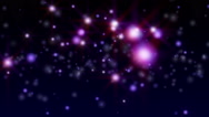 Particle stars abstract Stock Footage