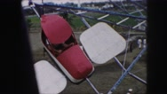 1958: an amusement park AMES, IOWA Stock Footage