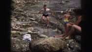 1958: a beautiful scene is seen with clouds AMES, IOWA Stock Footage