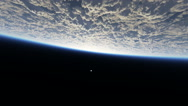 Fly over planet Stock Footage